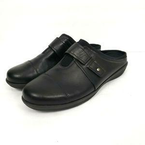 Comfortview 10.5W Wide maeve mule clog shoes black